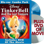 TINKER BELL and the LOST TREASURE Giveaway