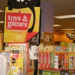 Borders Books and Games Isle Sign
