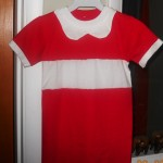 Homemade Orphan Annie Halloween Costume {cost $2}