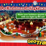 "Holiday Gift Guide – Fisher-Price GeoTrax Christmas In ToyTownâ""¢ RC Train Set"