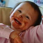 Johnson's Messy Baby Photo Contest at From Dates To Diapers