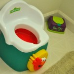 Sesame Street 1-2-3 Learn with Me Potty Chair –  Giveaway