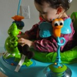 Evenflo ExerSaucer® Jump & Learn™ Active Learning Center –  Grows With Your Baby With Take With Me Toys