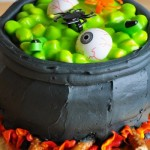 Wordless Wednesday – Creepy Halloween Cake