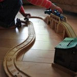 New! Thomas And Belle To The Rescue Wooden Railway Playset – Giveaway