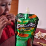 NEW! Gerber Graduates Grabbers Squeezable Fruit and Fruit and Vegetable Pouches‏