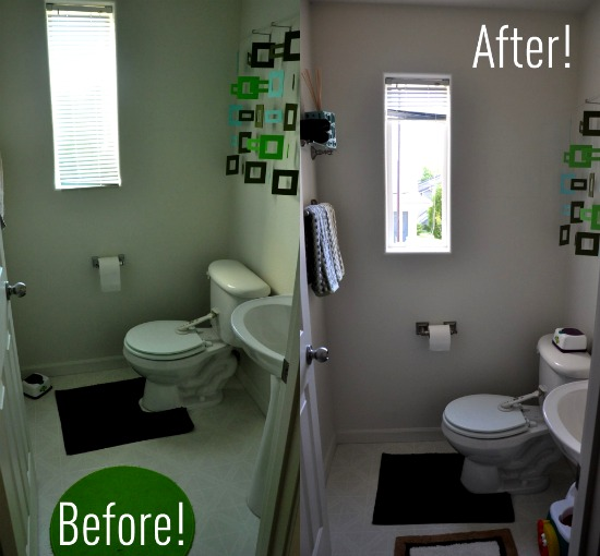 Before and after bathroom makeovers better homes gardens rachael edwards Better homes and gardens episodes 2016