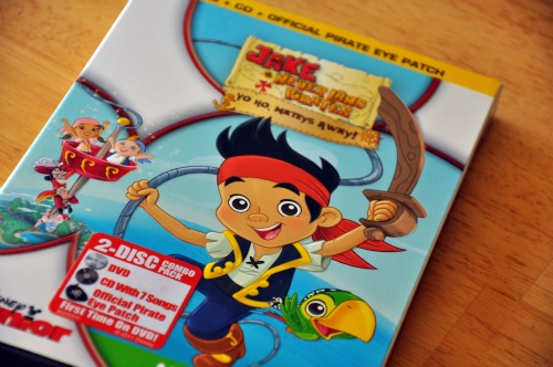 JAKE AND THE NEVER LAND PIRATES DVD on 9/27