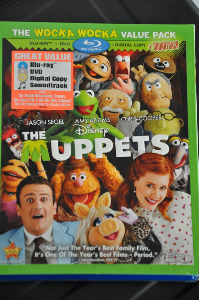 the muppets blu ray