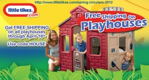 LittleTikesPlayhouses-FreeShipping