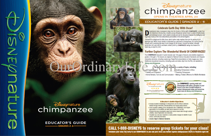 Disneynature Chimpanzee Educators Guide
