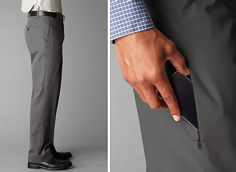 Dockers® Mobile Pocket Pant Mobile Phone Pocket