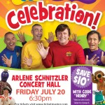 THE WIGGLES! CELEBRATION TOUR! Portland, Oregon – Ticket Giveaway!