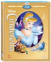 CINDERELLA: DIAMOND EDITION on Blu-ray & DVD 10/2