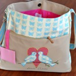 Diaper Bags For Baby: Pink Lining