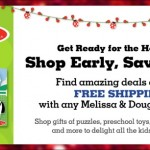 Totsy Holiday Toy Weekend: Melissa & Doug‏ Specials – Giveaway