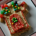 Rice Krispies Treats houses