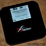Great For Travel – NetZero 4G HotSpot