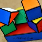 Hot For The Holidays:  Tollytots Rubik's Cube Blocks – Giveaway