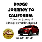 Our Journey To California With Dodge #DodgeJourneyToCalifornia
