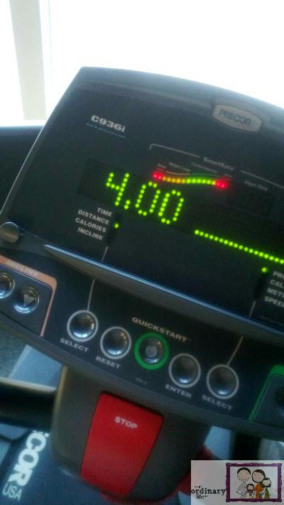 4 miles treadmill