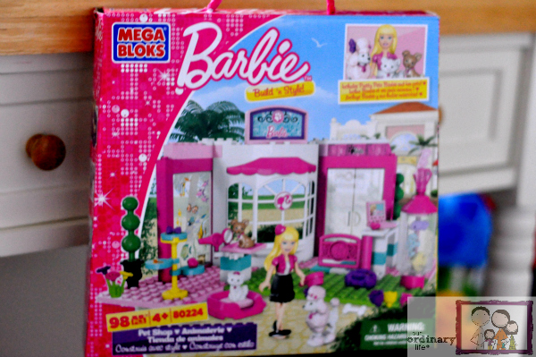 barbie build and style pet shop