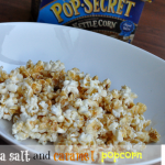 The Secret To Movie Night – Sea Salt Caramel Popcorn Recipe  #PopSecretMovieNight