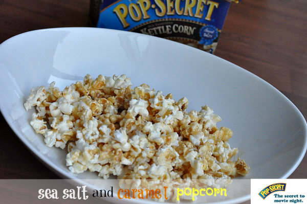 Sea Salt Caramel Popcorn Recipe