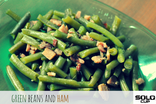 ham and green bean recipe