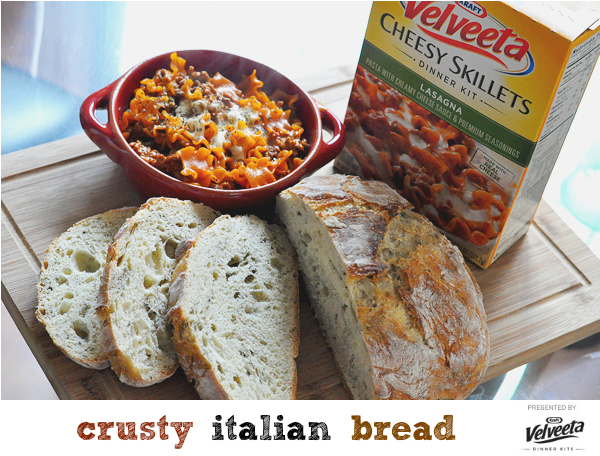 crusty iltalian bread