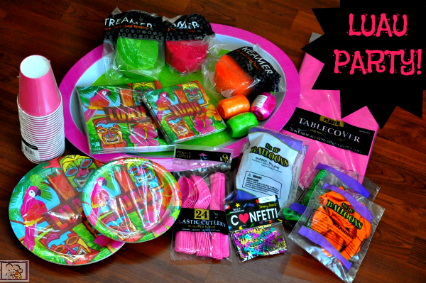 Luau Deluxe Party Pack