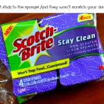 Scotch-Brite Non-Scratch Printed Sponges – Giveaway