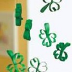 Swinging Shamrocks St. Patrick's Day Craft For Kids