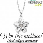Fred Meyer Jewelers Makes it Easy to Celebrate Mom‏ – Diamond Necklace Giveaway