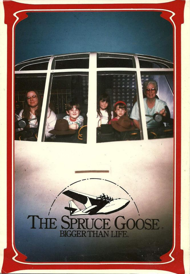 travel with family spruce goose