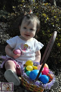 mia easter 2013 9 months old