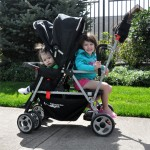 The Joovy Caboose Ultralight Stand-On Tandem Stroller