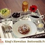 Mother's Day Breakfast In Bed Idea  – King's Hawaiian Buttermilk Pancakes Recipe