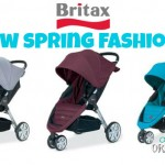 BRITAX Debuts Vibrant New Fashions For B-AGILE – BRITAX B-AGILE Stroller Giveaway!