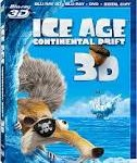 Valentine's Day Gift Ideas – Ice Age 4: Continental Drift 3D (Blu-ray 3D + Blu-ray 2D + DVD + Digital Copy)