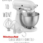 Finding Your Bliss In The Kitchen – KitchenAid® Classic Series 4.5-Quart Tilt-Head Stand Mixer Giveaway