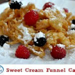 International Delight – Sweet Cream Funnel Cake Recipe #whatsyourid
