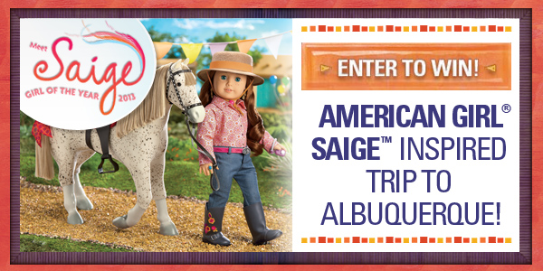 Inspire your family with a vacation to Albuquerque  Enter to win an American Girl-themed getaway