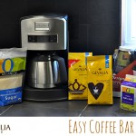Birthday Party – Our Gevalia Coffee Bar #SafewayGevalia