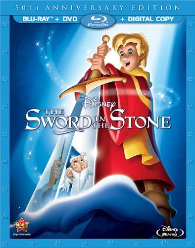 Disney Sword in the stone DVD bluray