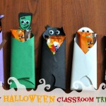 Easy Halloween Classroom Treat Idea – Candy Bar Costumes Craft