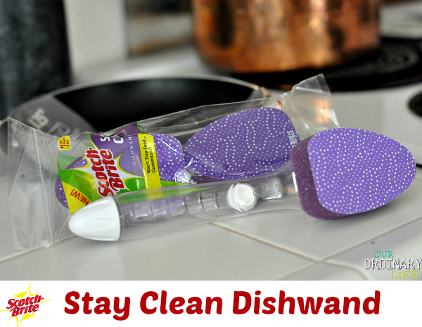 scotch brite stay clean dishwand