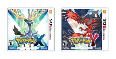 Pokemon X Y Nintendo 3DS