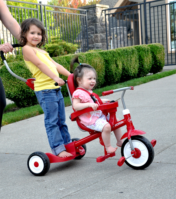 Radio Flyer Trike for 2 riders 4 in 1  (7)