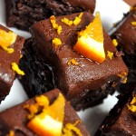 Double Chocolate Orange Brownies – #McCormickBakeSale $75 Giveaway!